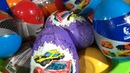 Распаковка детских игрушек, пластиковые яйца, киндер сюрприз, Kinder Surprise