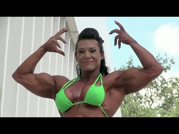 Muscle Woman 61 Alina Popa Female muscle! Strong woman! Bodybuilding! Fitness! Sport! Girl in Gym!
