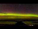 Южное полярное сияние (Аврора Аустралис) над Флиндерсом, Виктория, Австралия ( 20.04.2018).
