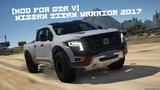 Mod for GTA V- Nissan Titan Warrior 2017