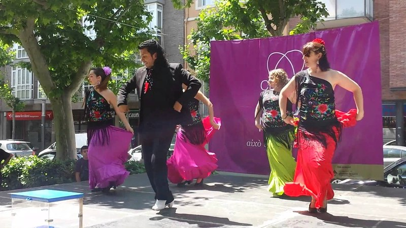 Rosa María. El Taranto Grupo Flamenco Sweet India