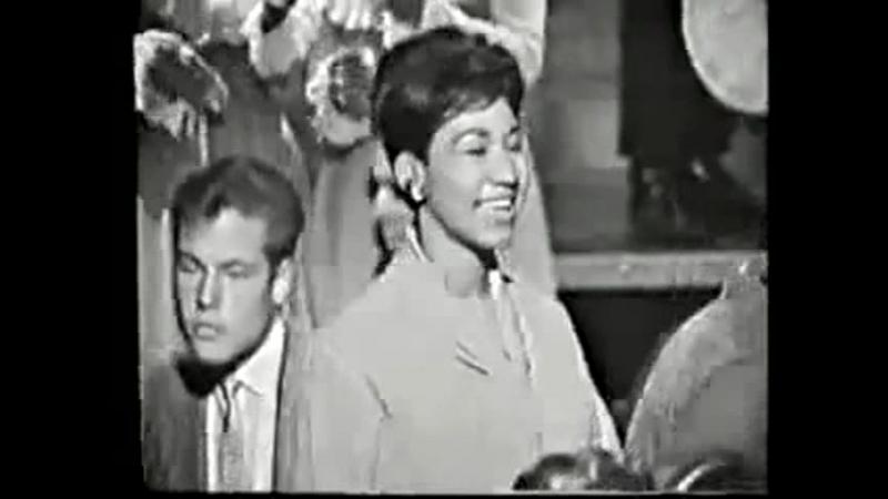 Aretha FRANKLIN- Mockingbird (пожелай мне удачи, птица пересмешник) (1960s TV Show)