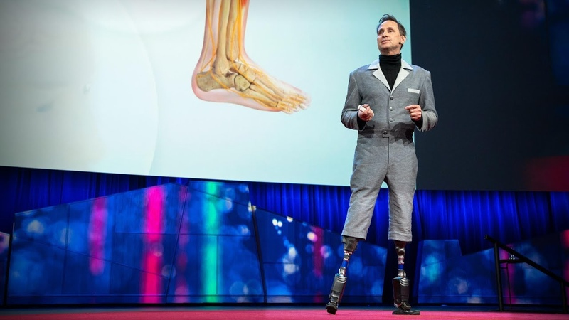 How we'll become cyborgs and extend human potential Hugh Herr