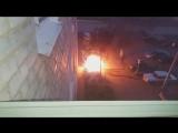 Сегодня ночью Дюртюли с 0400-0430 Или поджог или замыкание.