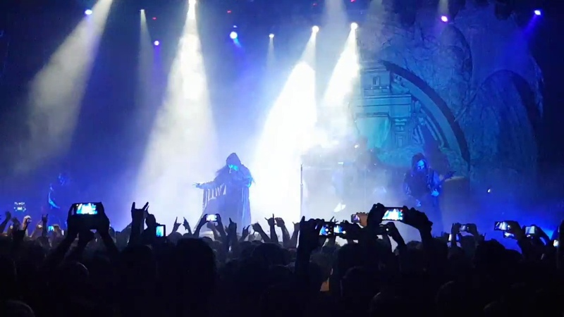 Dimmu Borgir - Council of Wolves and Snakes (live in GlavClub, Moscow, 20.09.2018)