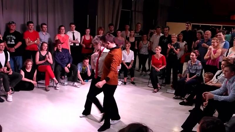 Артем Дмитриев и Анна Гонтмахер, crossover: wcs