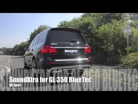 Выхлопная система для Mercedes GL 350 BlueTec от Brabus