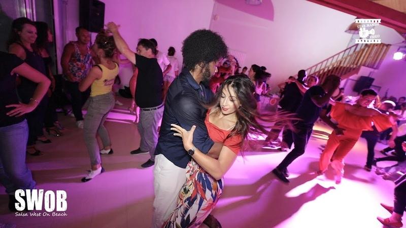 Terry SalsAlianza Amely - social dancing @ SWOB 2018