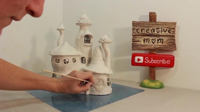 DIY Whimsy Fairy House Lamp Using Coke Plastic Bottles