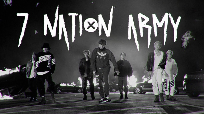 Bts — 7 nation army 「au | mep」
