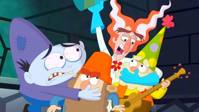 7 гномов Доктор Джинглхаймер Лесник волшебного леса Сезон 2 Серия 10 Мультфильмы Disney