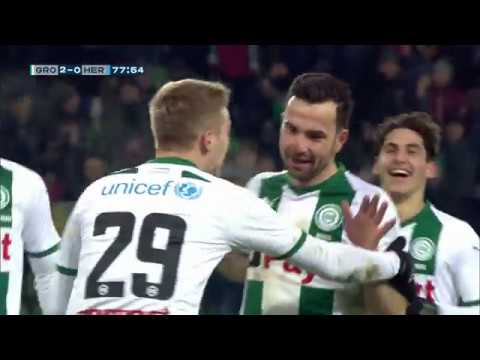 Samenvatting FC Groningen - Heracles Almelo 3-0 (19-01-2019)