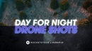 How to Create a DAY for NIGHT Scene with Drone Footage | Video Editing Tips