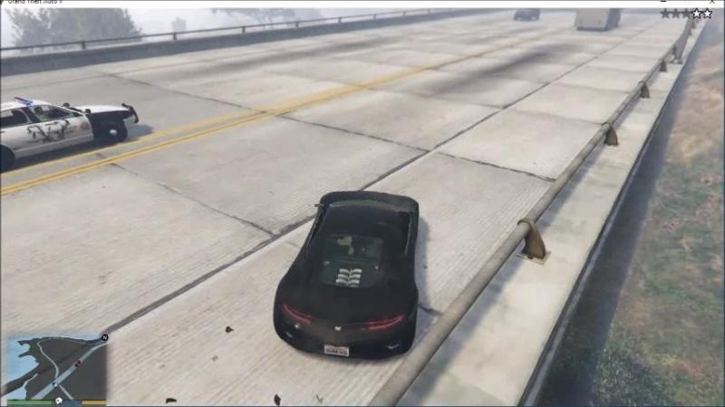Bugatti police ride