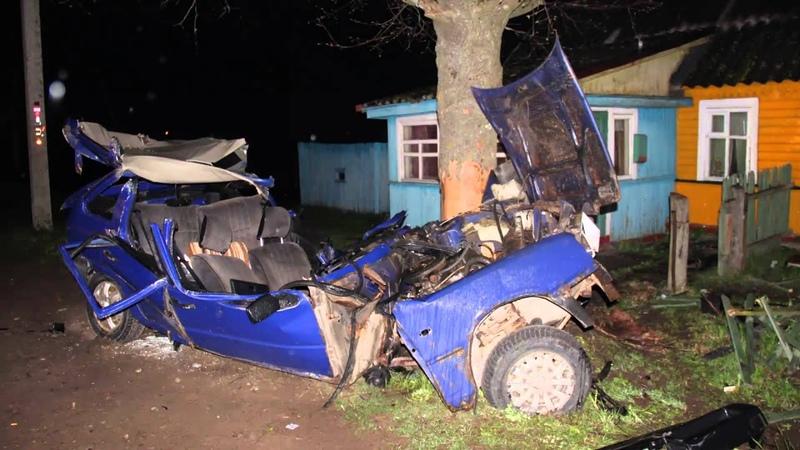 В Кингисппском районе автомобиль разорвало в клочья