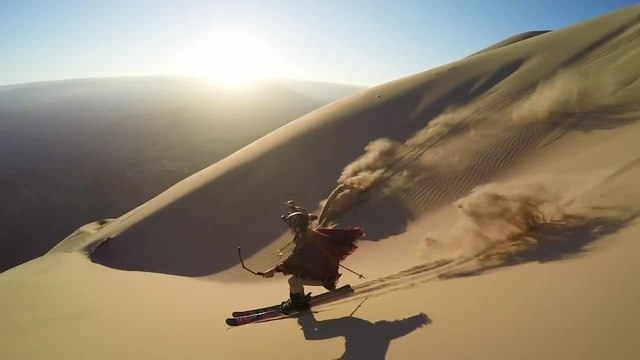 Dunes - Sand Skiing in Peru