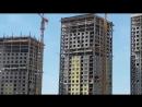 ЖК Эталон-Сити : ход завершающей стадии возведения монолитных конструкций башен 1,2,3. Строят реально быстрее 1 этажа в неделю!