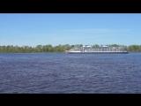 Речные прогулки на теплоходе по Волге в Нижнем Новгороде...