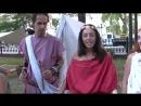Коллектив Phonomachoi SPQR Cultural Association демонстрирует как звучит авлос
