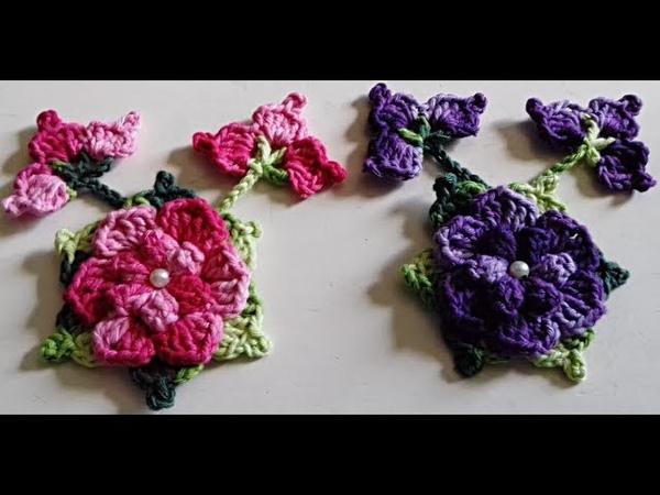 Flor Arraial - Muito linda, veja como fazer