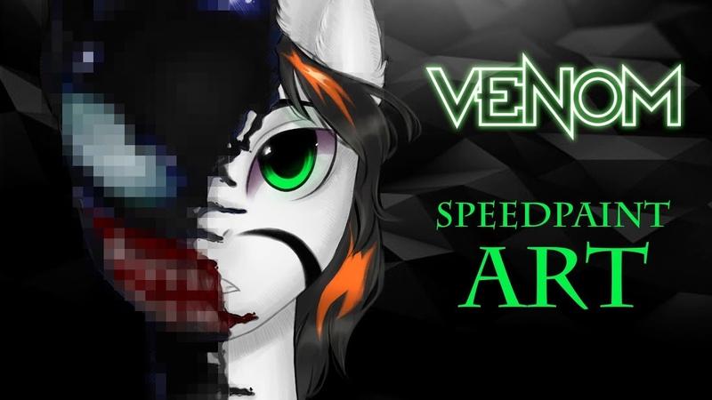 【 MLP Speedpaint 】 - We Are Venom - Paint Tool SAI