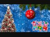 С Новым 2019 годом! скачать футаж фон для монтажа видео footage hd background