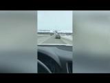 Парни расстреливают радары и машины сопровождения из пейнтбольного ружья