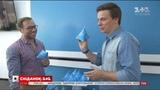 Дмитро Комаров і Андре Тан створили трикутний глобус – гроші від продажу йдуть на благодійність