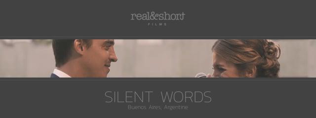 Silent Words a Short Film by Alejandro Calore (REALSHORT®)