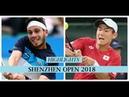 テニス 深セン2018 Yoshihito Nishioka 西岡義仁 vs Cameron Norrie Highlights Shenzhen 2018