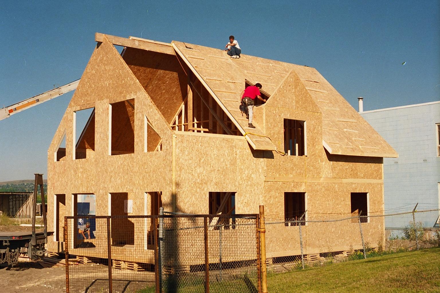 Дом из СИП-панелей