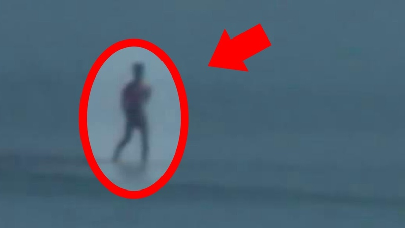 Man Walks on Water Caught on Tape REAL Superpowers