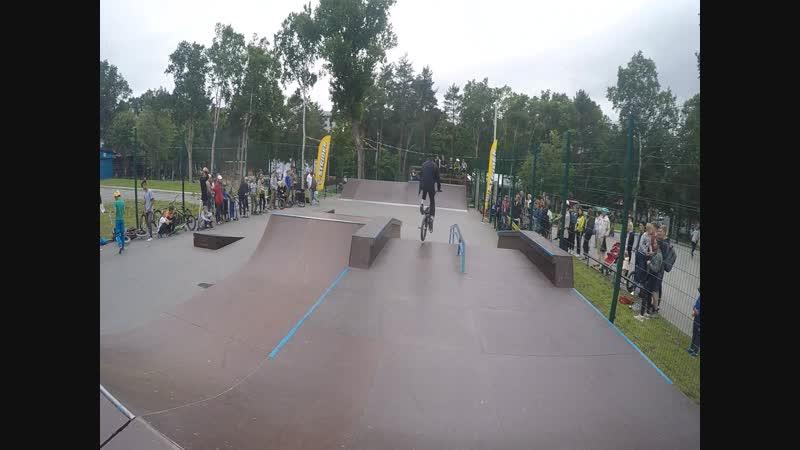Космос джем - наш ежегодный контест в скейтпарке на стадионе Космос