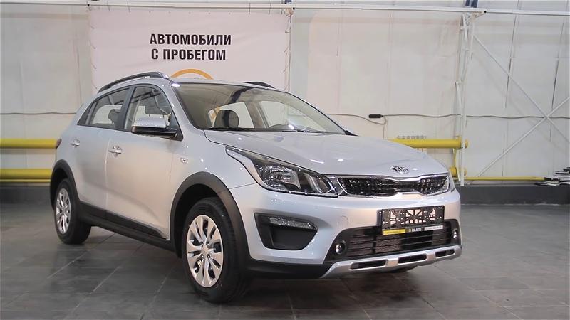 Обзор кросс хэтчбека новый автомобиль Киа Рио Х Лайн