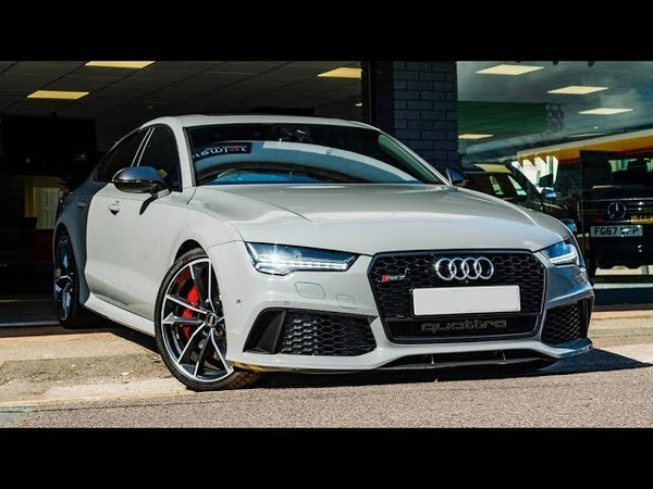 Nardo Grey Audi RS7 - it just looks and sounds amazing!