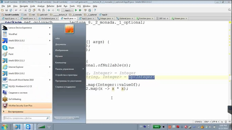 GolovachCourses: Java Multithreading 23.06.2014 Lecture 08
