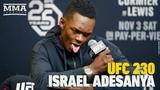 UFC 230 Israel Adesanya Post-Fight Press Conference - MMA Fighting