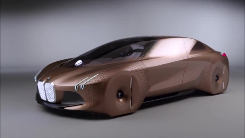 BMW Vision Next 100 - interior Exterior and Drive_HD.mp4