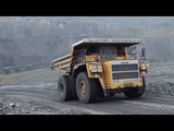 The Largest Dump Truck in The World in Action