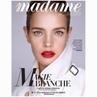 """Madame Figaro Paris on Instagram: """"Dix ans que la top-modèle incarne la femme Shalimar et le maquillage Guerlain. Pour l'occasion, NataliaVodian..."""