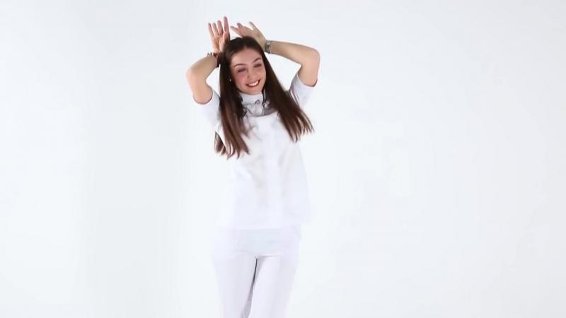 Люди в белом! Самая крутая реклама медицинской одежды! Студенты медики в роли самих себя