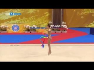Арина Аверина лента (AA) — Чемпионат Мира 2018 / Болгария, София