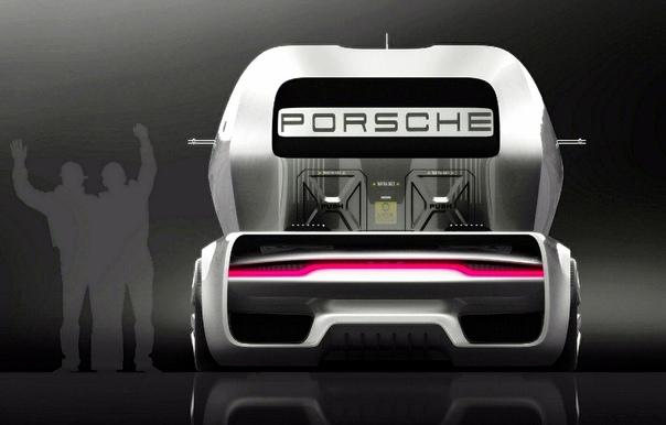 Проект Александр Имнадзе Бальдини —Porsche Vision GT Truck
