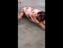 На пляже объявились неопознанные существа