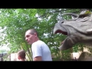 Дино - парк в Москве в парке Сказка. Мир динозавров. (07.18г.) Семья Бровченко.