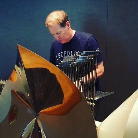 Cliff Martinez plays the Cristal Baschet! This is the beautiful sound of Drive
