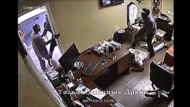 Вооруженное нападение на автомойку. Работники отбивались как могли