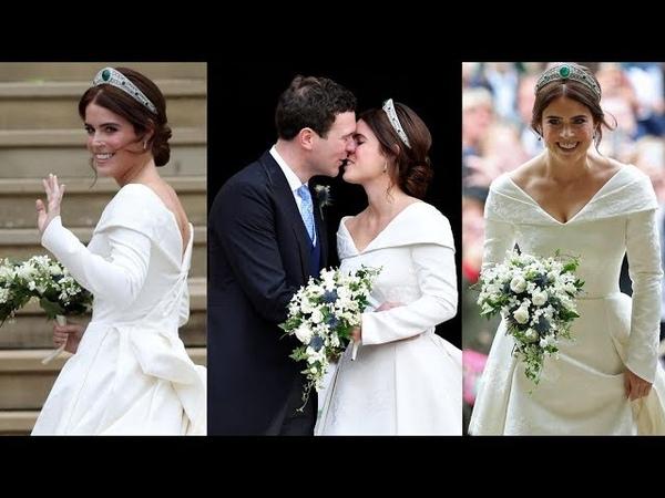 El vestido de novia de Eugenia de York en su Boda Real con Jack Brooksbank looks de invitados