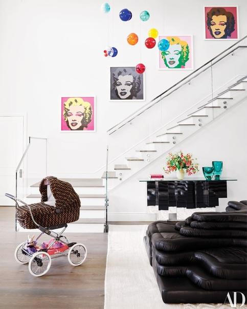Дом Кайли Дженнер для журнала Architectural Digest, 2019 (Часть 1)
