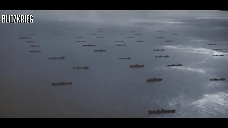 Normandy Landings - D-Day 1944 [HD Colour]